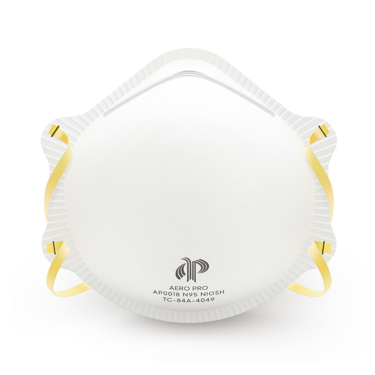 300-Pack N95 Respirator (NIOSH), FDA 510K Cleared Surgical Respirator Mask, Medical Grade Disposable Particulate Filtering Respirator (300 Count)