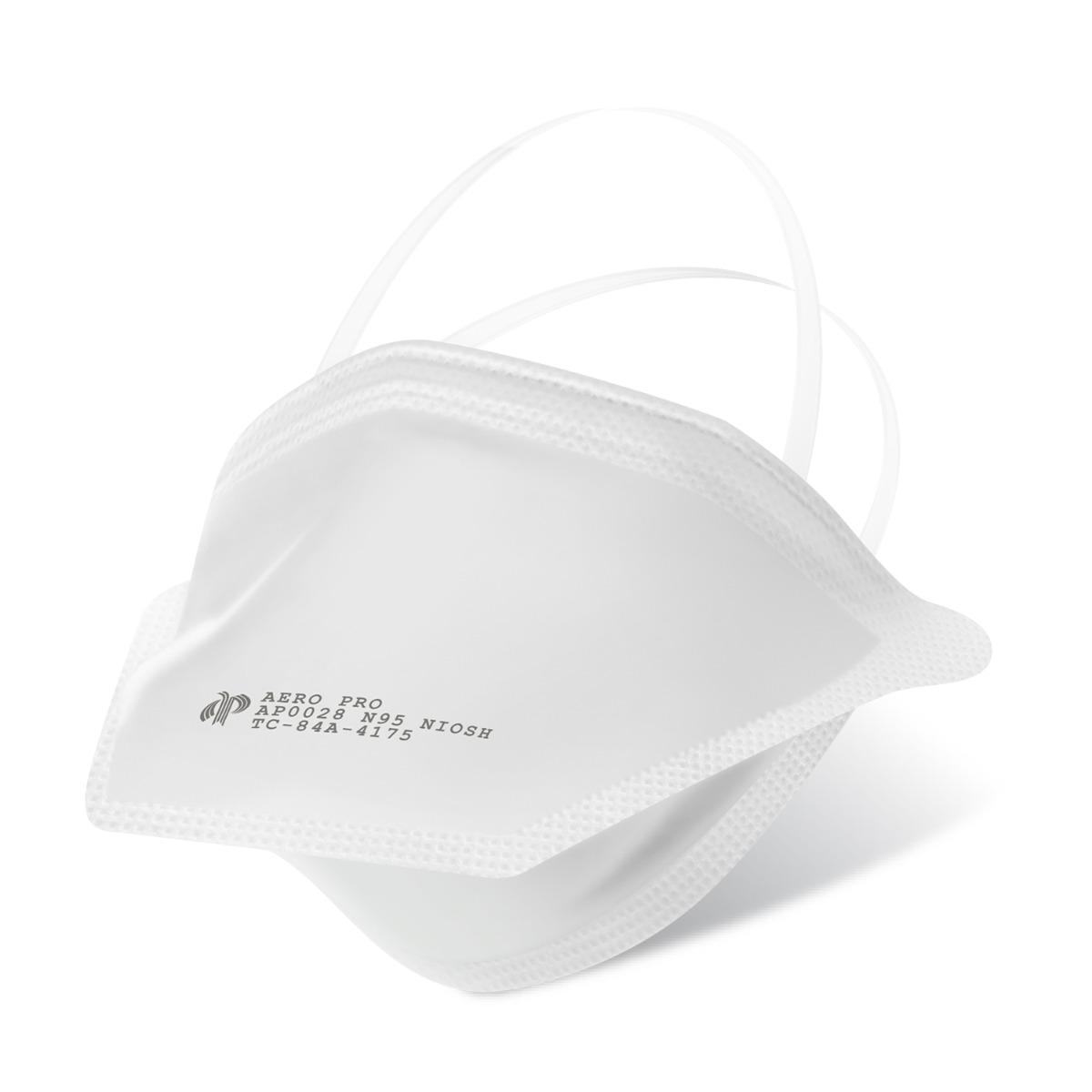 90-Pack N95 Respirator (NIOSH), FDA Cleared Surgical Respirator Mask, Medical Grade Disposable Particulate Filtering Respirator (90 Count)