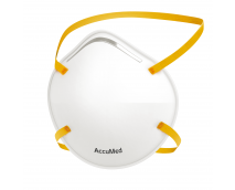 AccuMed 20-Pack KN95 Face Mask (Headband) (KN95 GB2626-2019). Particulate Filtering Cup Style Face Mask, (20 Count)